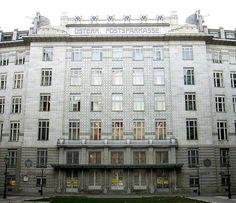 Office de la caisse d'épargne postale (1904-1906) - Otto Wagner
