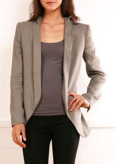 f5820844b0d THEYSKENS' THEORY JACKET Stylish Jackets, Stylish Clothes, Stylish Outfits,  Work Clothes,