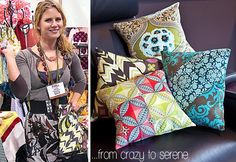 Pillow covers--nice . . .