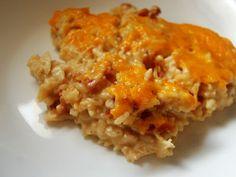 Chicken Cheddar Bacon Ranch Rice Bake