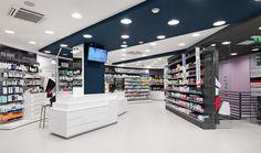 farmacia san giorgio de angelis roma Mobil M flavio leggeri arredamento farmacie cassettiere viola (1)