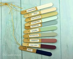 Good way to track your house's paint colors