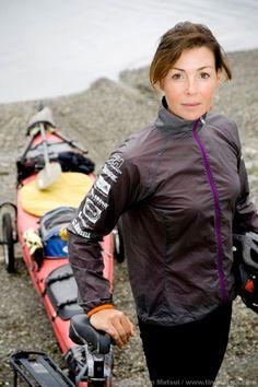 ... Renata Chlumska - professional adventurer, mountain climber and soon space tourist with Virgin Galactic.