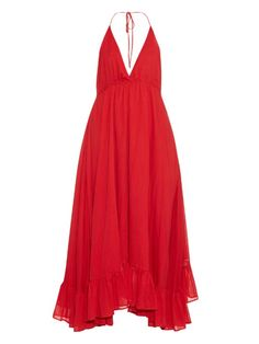 Loup Charmant Miami halterneck cotton dress