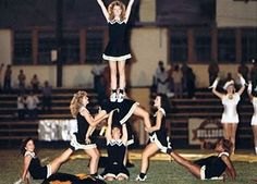 What is this! We love to see how times have change :) #cheer #cheerleader #cheerleading