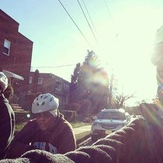 from @gearingup -  Cold? What cold?! These ladies at Why Not Prosper braved the frigid temperatures for a few miles through #Germantown & are working toward 150 miles when they'll earn their own bike !  #GearingUpPHL #gearingup #philly #philadelphia #bikePHL #bikephilly #womenbikephl #womenbike #womencycling #addictionrecovery #recovery #fujibikes #bikes #bicycle # #motivation #inspiration by eastfallsfitnessgym