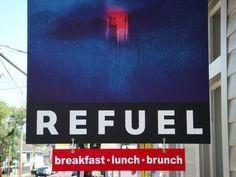 Refuel Café New Orleans Sunday Breakfast, Coffee Roasting, Orleans Restaurants, New Orleans, Coffee Shop, Brunch, Big, Music, Travel