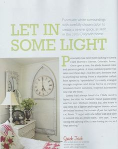 Fifi ONeil Country Sampler Home Tours magazine