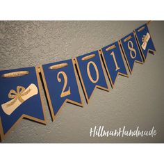 Graduation Banner Class of 2018 Banner Class of 2018 Grad Graduation Cupcake Toppers, Graduation Banner, Preschool Graduation, Graduation Decorations, Softball Decorations, 2017 Banner, Graduation Open Houses, Diy Crafts For Girls, American Girl Crafts