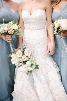 Groom's Attire: Harry Rosen - www.harryrosen.com/mens-style/FW14/Made-To-Measure Bridesmaids' Dresses: BHLDN - www.bhldn.com/product/annabelle-dress-lapis Wedding Dress: Allure Bridal - http://www.stylemepretty.com/portfolio/allure-bridal   Read More on SMP: http://www.stylemepretty.com/canada-weddings/2015/11/20//