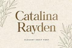 Sleek sellouts! 🤓. Order Catalina Rayden Is Unique Elegant Serif Display Font at €3.40 #Logo #Modern #Display #Font #Decorative #Bold #Serif #Fashion #Branding #Badge Modern Serif Fonts, Slab Serif Fonts, Hand Lettering Fonts, Typography Fonts, Extra Bold Fonts, Cool Fonts Alphabet, Logo Label, Online Fonts, Professional Fonts