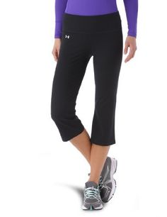 Women's UA Perfect Capri Bottoms by Under Armour by Under Armour. $40.99. Fitted for a sleeker, smoother silhouette and just the right amount of support. Super-soft, brushed fabric has a matte finish for a clean, classic look. Signature HeatGear® fabric regulates core temperature and wicks sweat to keep you cool, dry, and light. Wide, 2-piece waistband prevents bunching, bulging, and that annoying roll-over. Advanced seam placement shows off your curves. Rise sits...