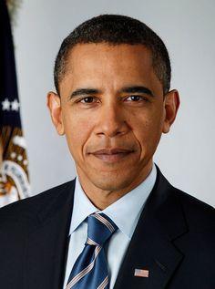 Barack Hussein Obama, 44º Presidente dos EE. UU. #Mandato: 20/Janeiro/2009. 2º Mandato em curso.