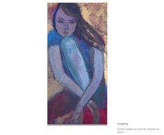 Udvarhelyi Zsuzsa: Pubertás Art, Art Background, Kunst, Performing Arts, Art Education Resources, Artworks