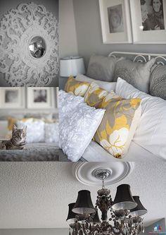 Стильный декор в серых тонах: неожиданное решение для спальной комнаты имеет право на жизнь - Для того, чтоб спальне быть удобною и дивною, в жизнь нам надо претворить идеи конструктивные. О том, как сделать это, поделимся секретами - Форум-Град