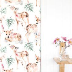 Dreamy Watercolor Designs by Matilda Svensson Deer Wallpaper, Beautiful Figure, Oh Deer, Malm, Watercolor Design, Matilda, Illustration Art, Illustrations, Wedding Decorations