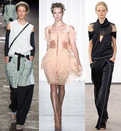 Trend alert: hombros al aire (shoulders off o cutout shoulders) #SS14