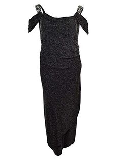 Plus Size Alex Evenings 427395 Dress Size 14 Color Black >>> You can find more details by visiting the image link.
