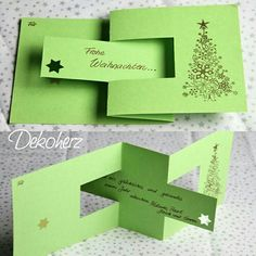 fancy fold Christms card ...