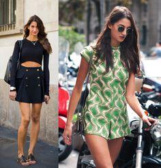 Esta es la italiana que llevó el mejor look de 2013 según Style.com: Sara Nicole Rossetto