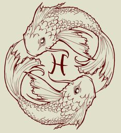 fish drawings designs for tattoos | pisces Koi fish by JACKIEthePIRATE on deviantART