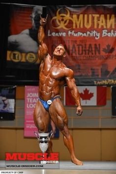 Antoine Vaillant after becoming an IFBB pro