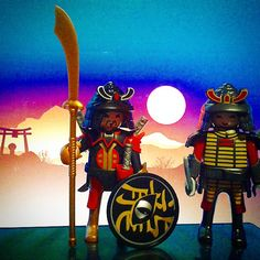 Samurai warriors #playmobil #playmobilgram #playmobilfans #playmolovers #play#instaclicks #instaplaymobil #famobilgram #famobillovers #samurai #guerreros #warriors #solnaciente