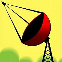 Illustration Of Mobile Tower With Antenna