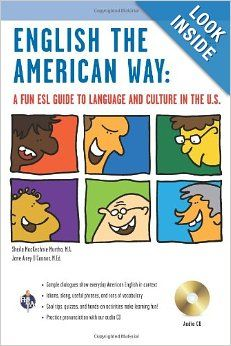 16 best great ebooks to learn english images on pinterest learn english the american way a fun esl guide to language and culture in the u waudio cd english as a second language seriessheila mackechnie murtha m fandeluxe Choice Image