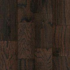 "Mohawk 5"" Wide Oak Wool Distressed Engineered Hardwood"