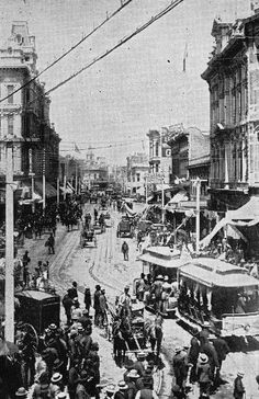 Downtown L. at First & Spring - 1890 Los Angeles County, Downtown Los Angeles, California History, Southern California, Kickin It Old School, Places Worth Visiting, San Luis Obispo County, City Of Angels, World Photography