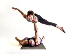 Have you heard of AcroYoga, the discipline that combines the meditative properties of yoga with the gracefulness of acrobatics? It's pretty cool. #SelfMagazine