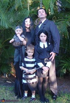 This Halloween costume idea is both creepy and kooky! Turn up the scare factor with an Addams Family costume.