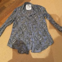 Cino blouse Cute Cino blouse! Western feel. From Anthropologie Anthropologie Tops Tunics