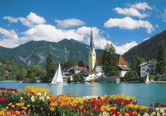 Jigsaw Puzzle - Tegernsee, Rottach-Egern, Germany - 6000 Pieces  Clementoni