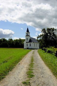 Serene country church