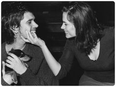 Ben Whishaw and Hayley Atwell