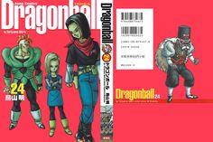 Dragon Ball Kanzenban Volume #24 - Front/Back Cover