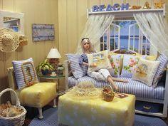 Fashion Royalty & Barbie diorama
