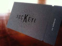sockeye - die-cut business cards | #Business #Card #visitenkarte #creative #paper #businesscard #corporate #design repinned by www.BlickeDeeler.de | Follow us on www.facebook.com/BlickeDeeler