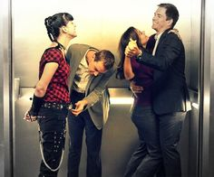 NCIS.  I want to be friends with them.  Lol.