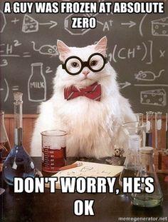 chemistry cat - 0K
