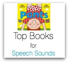 Books for Speech Therapy - lists of books categorised by articulation, vocabulary and syntax!