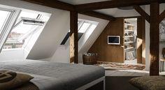 Ideias para quartos - encontre ótimas ideias para quartos com a VELUX - clique aqui para saber mais