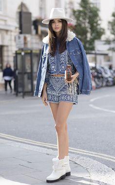 Doina Ciobanu from Street Style at London Fashion Week Spring 2016 | E! Online