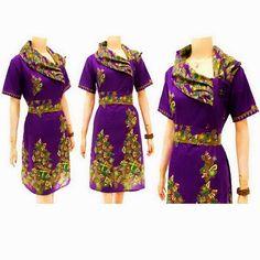 Dress Batik Seri Diana