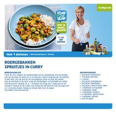 Roergebakken spruitjes in curry - Lidl Nederland Snel te maken en door iedereen goedgekeurd!!