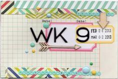 Krafty Kat: Project Life || Week 9