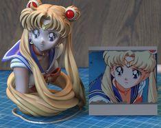 (20) まぎー (@prprmaggy) / Twitter Sailor Moon Cakes, Sailor Moon Meme, Sailor Uranus, Anime W, Anime Dolls, Anime Figurines, Figurines D'action, Sailor Moom, Moon Drawing