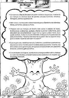 Blog da Escola Boa Vista: Pré Escola e Dia da árvore